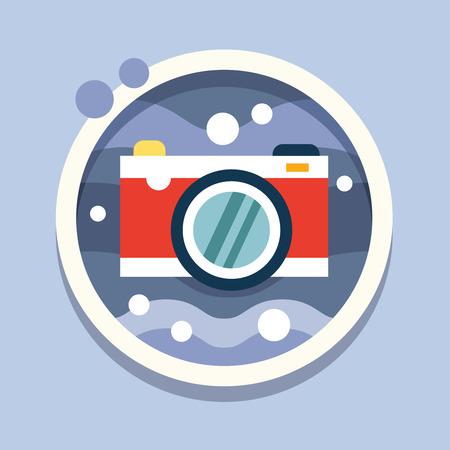 housing problems: Travel, flat style vector illustration conciption icon Illustration