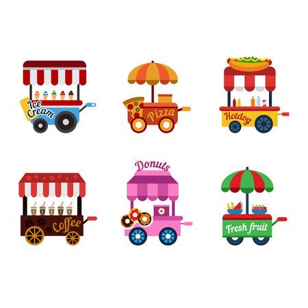vintage food trolley Street food van