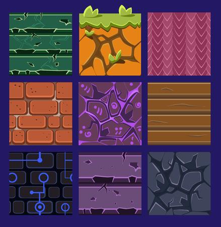 medieval: Los diferentes materiales y texturas para el juego.