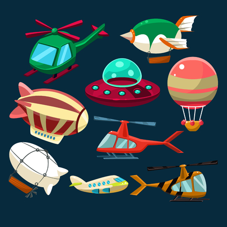 shuttles: Aviation Airplanes Space Shuttles Hot Air Balloons Collection