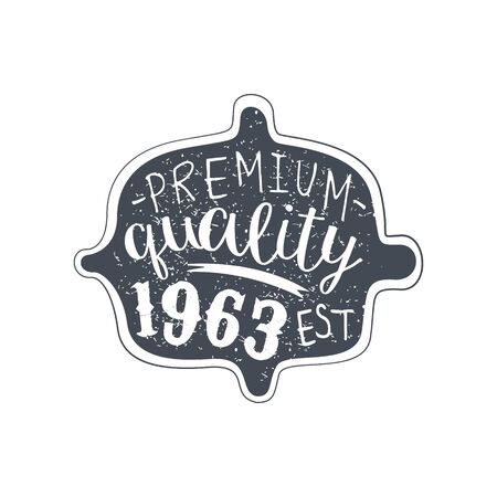 specially: Premium Quality Clothing Vintage Emblem.
