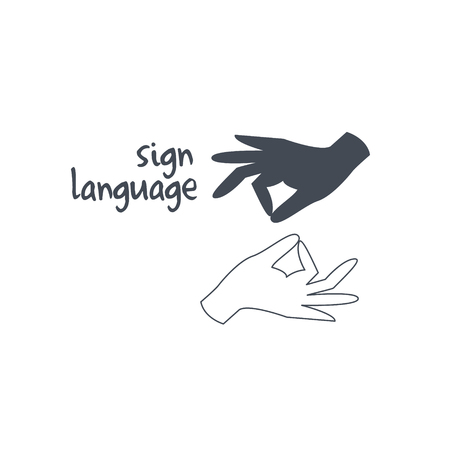 397 Sign Language Interpreter Stock Vector Illustration And ...