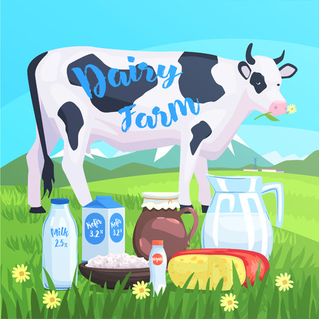 color cow drawing cow toy farm animal cute stickerbright color funky flat drawing