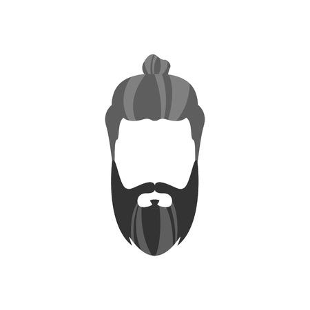 Männlich Haisrtyle Constructor Für Gesicht Set.Hair, Bart Und ...