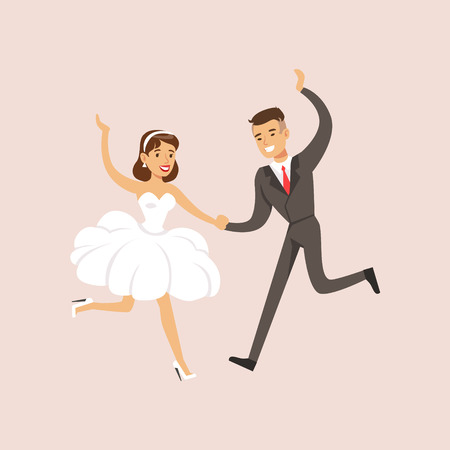 asian family: Newlyweds Doing First Modern Dance At The Wedding Party Scene