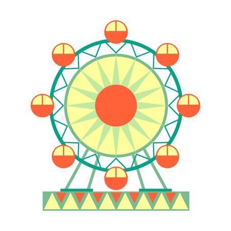 큰 관람차 타기, 유원지 및 공정 만화 시리즈의 공정한 시리즈의 부분