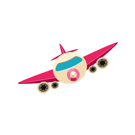 Jet Toy Aircraft Icon
