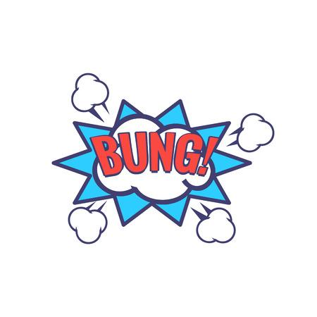 Bung Comic Speech Bubble
