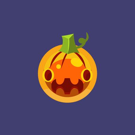 Stylised Simple Pumpkin Lamtern