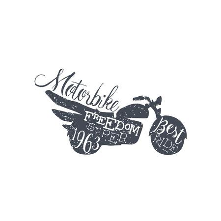 Best Ride Black And White Vintage Emblem