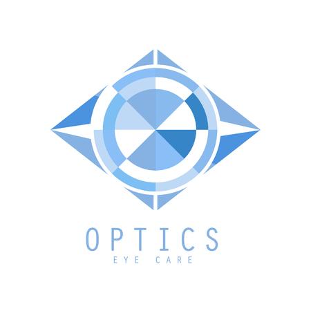 Optics symbol, vector Illustration