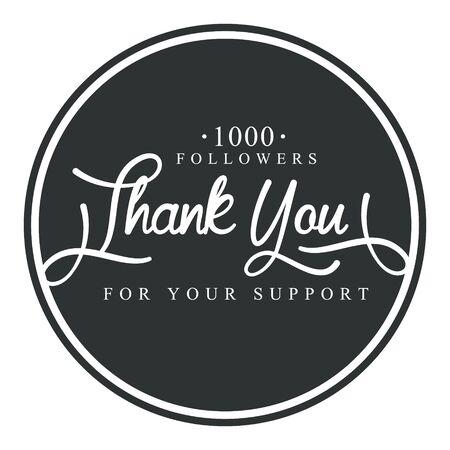 ご支援いただきありがとうございますラウンド ラベル、ベクトル イラスト  イラスト・ベクター素材