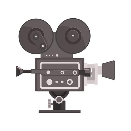 Vintage film camera vector illustratie Stock Illustratie