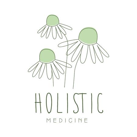 Holistic medicine logo symbol vector Illustration Imagens - 79011309