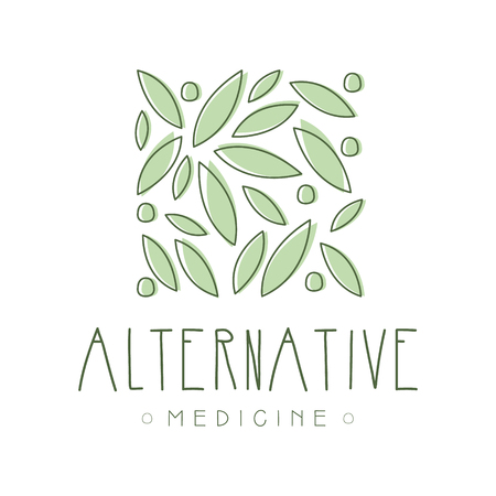 Alternative medicine symbol vector Illustration
