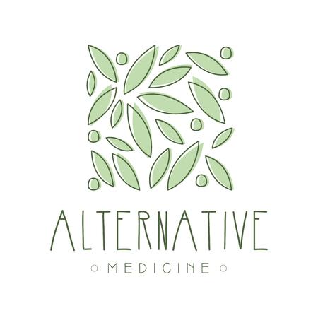 Alternative medicine symbol vector Illustration
