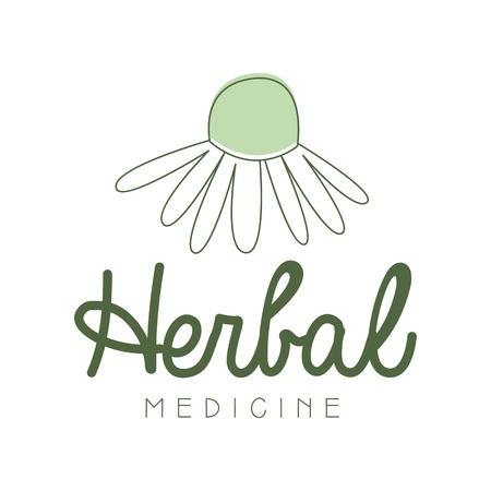 Herbal medicine symbol vector Illustration Imagens - 79029546