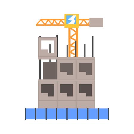 多層建築ベクトル図の構築のプロセス