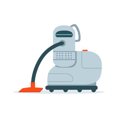 Robot aspirador ilustración vectorial