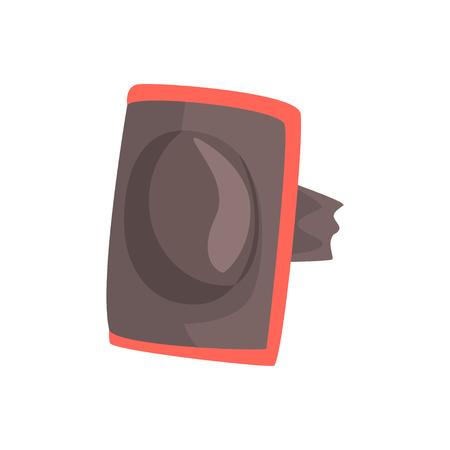 Protector codo vector de dibujos animados de dibujos animados sobre un fondo blanco Foto de archivo - 85822227