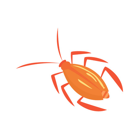Cockroach insect cartoon vector illustration i