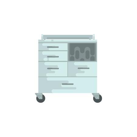 医療機器、箪笥のベクトル図