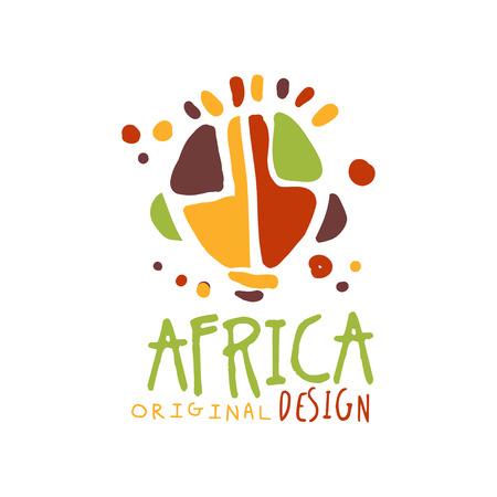 Original african ethnic tribal Illustration