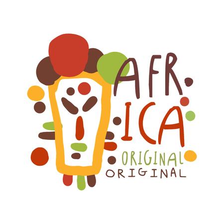 Original african tribal doodle