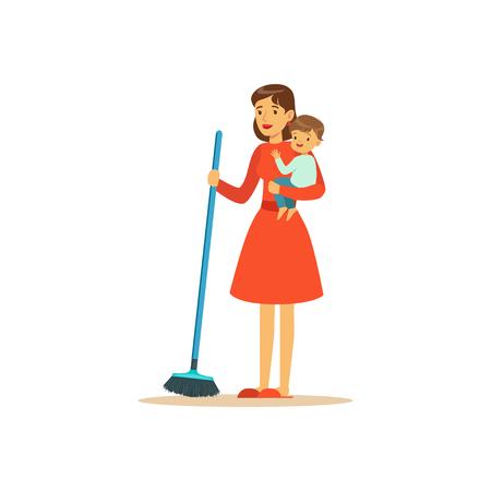 スーパーママ掃引階子を持つ文字