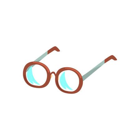 Glasses cartoon vector Illustration Illustration