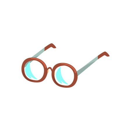 Glasses cartoon vector Illustration Illustration