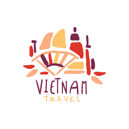 Travel to Vietnam logo design