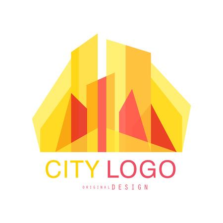 City  original design, abstract city building concept vector Illustration