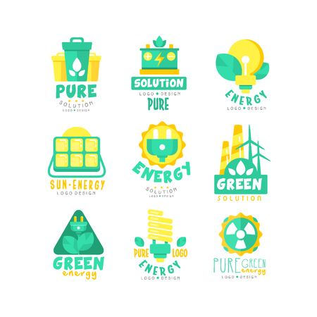 Alternative green energy sources  set