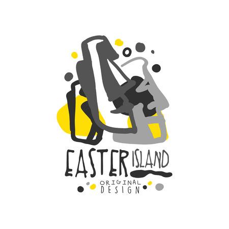 Exotische Osterinsel Sommerferien Standard-Bild - 90578755