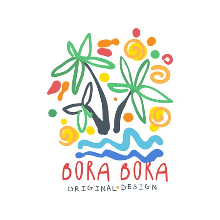 Exotic summer Bora Bora travel