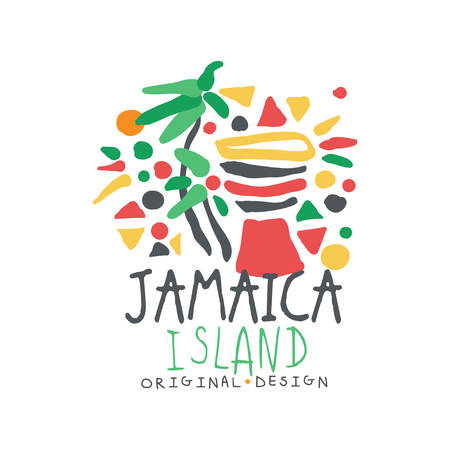 Jamaica summer vacation colorful