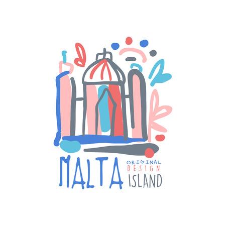 몰타에 이국적인 여름 여행