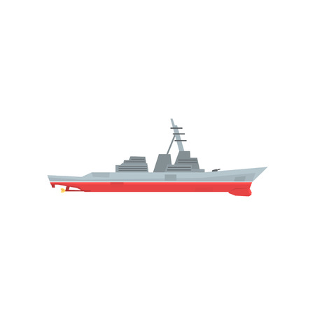 Military battleship icon.