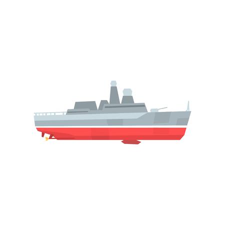 Military ship icon.