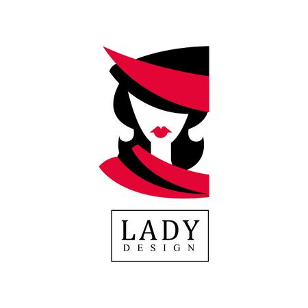 Lady design banner.