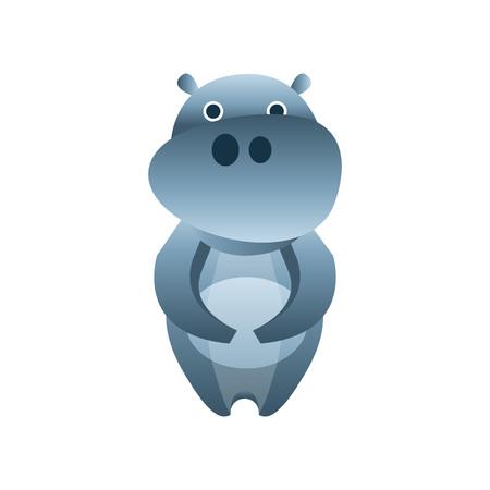 Hippopotamus icon.