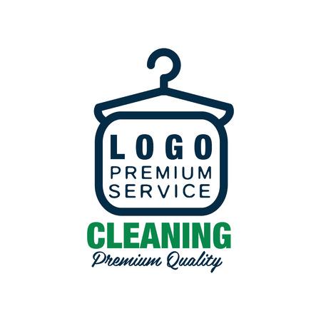 Kreatives Logo Für Chemische Reinigung Oder Wäscheservice ...