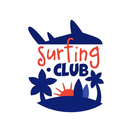Logos For Vintage Surf Logo Badges Set