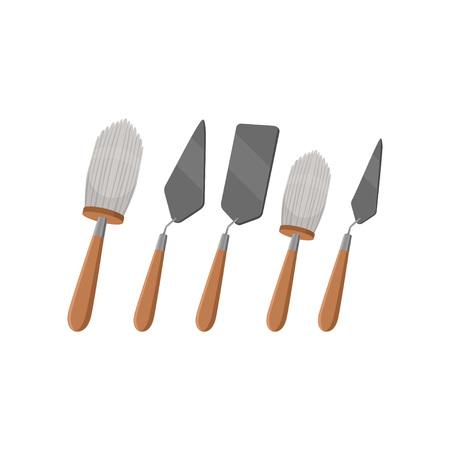 考古学発掘のための異なるツール