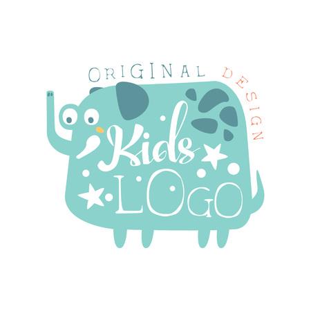 Kids icon original design, baby shop label, fashion print for kids wear, baby shower celebration, greeting, invitation card hand drawn vector Illustration on a white background