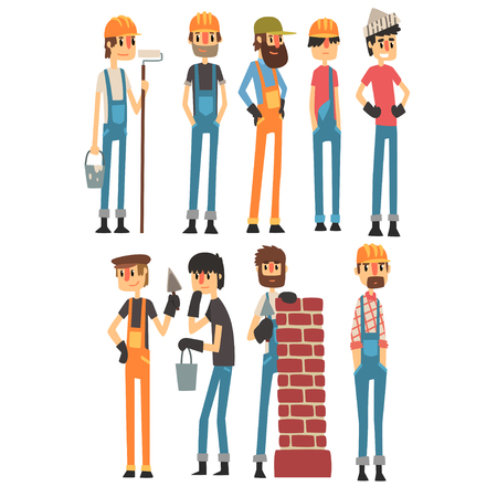 People of different professions. Labor Day. Vector illustration. Ilustrace