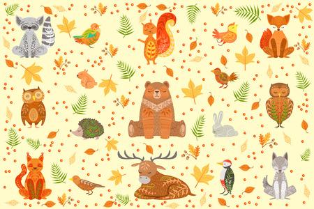 Forest pet Illustration Illustration