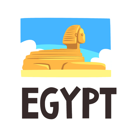 Egypt Sphinx of Giza image illustration