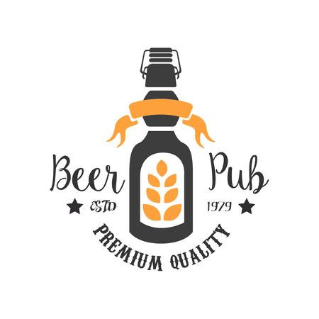 Original emblem template for pub.